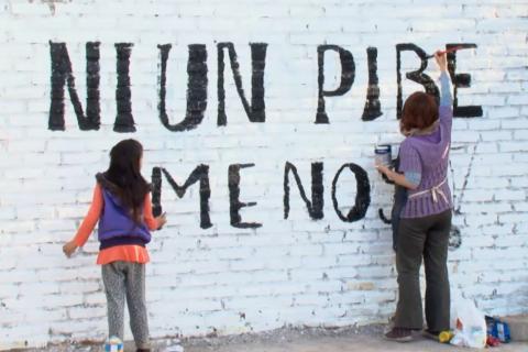 """Proyectan en Roca el documental """"ni un pibe menos"""""""